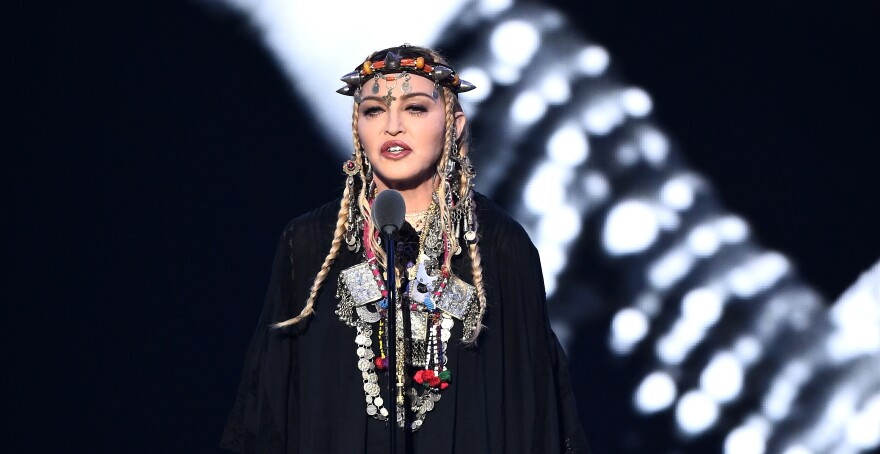 Madonna's outfit at the Video Music Awards had elements from North Africa's Amazigh people.