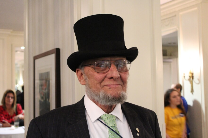 Jefferson County Councilman George Engelbach has been a mainstay at Lincoln Days for years. Attendees often like to take pictures with Engelbach, because he resembles President Abraham Lincoln.