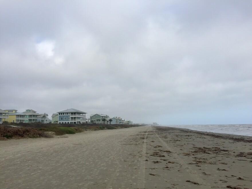 The Gulf Coast in Galveston.