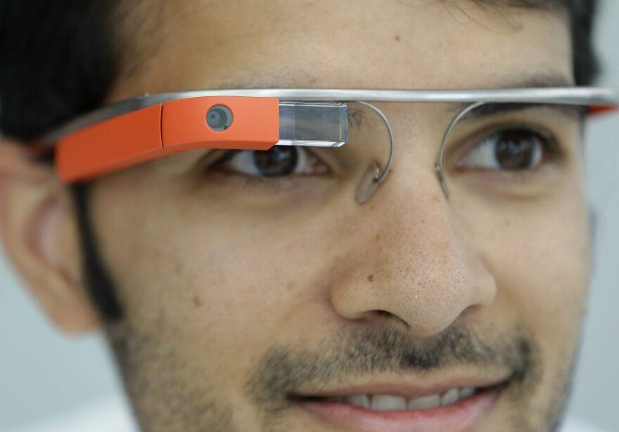 Google Glasses displayed in San Francisco in 2013. (Jeff Chiu/AP)