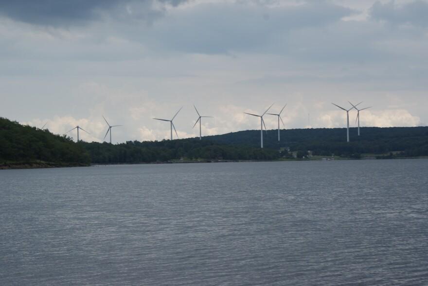 Mt. Storm windmills