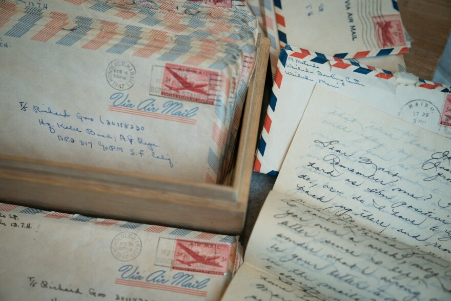 Letters that made the journey from Honolulu to Kobe, Japan, were evidence of an overseas courtship between two young people, Goo and Martha Kekauililani Matsuda.