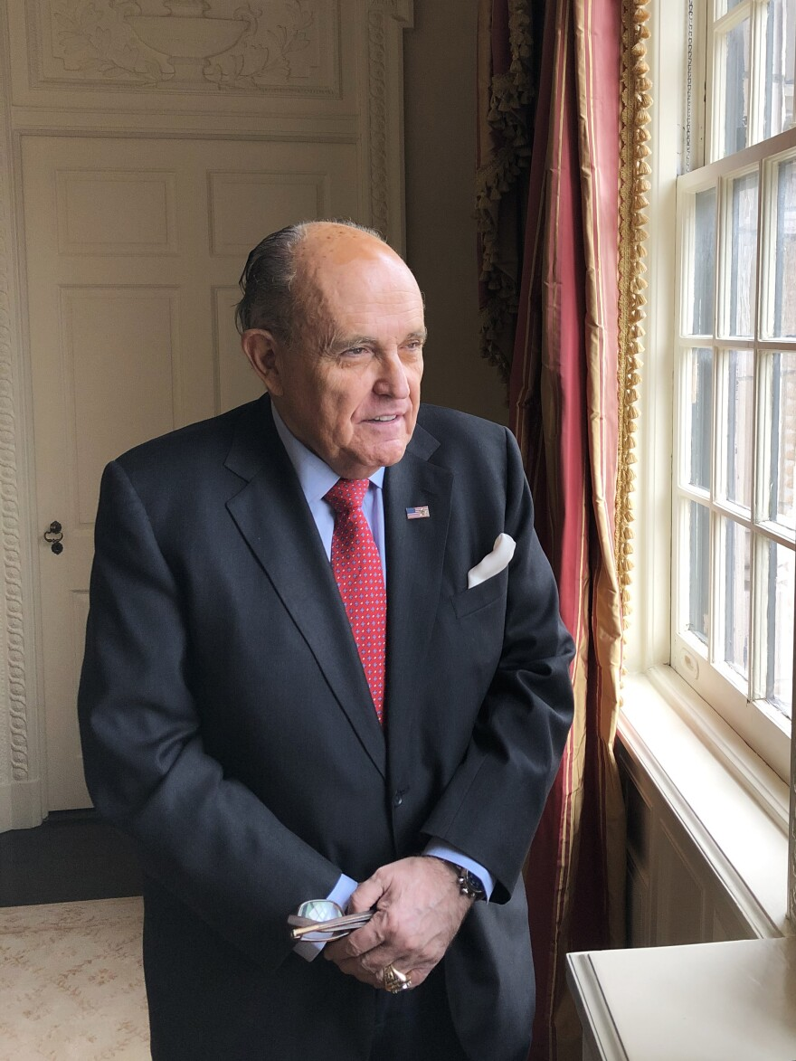 """Former New York City Mayor and President Trump personal attorney Rudy Giuliani, has emerged as a pivotal figure in the events that ultimately resulted in President Trump's impeachment. Giuliani called the president's expected acquittal """"a total vindication."""""""
