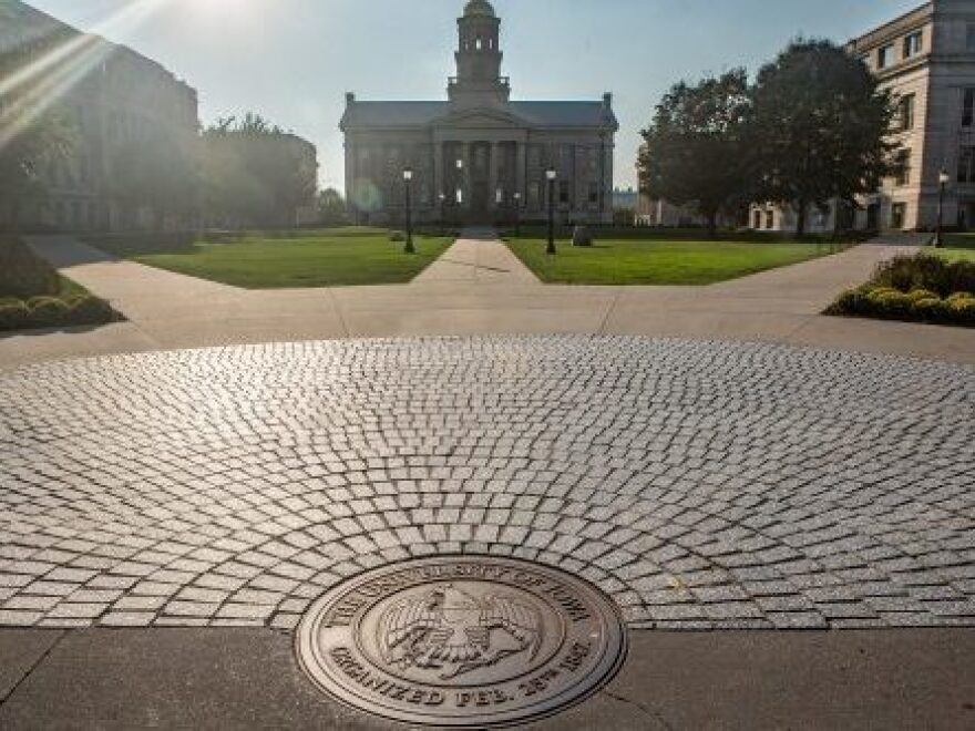 """Dustin Gordon grew up in a small town where everyone knew each other. His high school graduating class had 29 students. When he got to the University of Iowa, he says, """"I literally knew nobody on campus."""""""