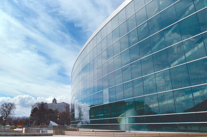 Photo of the salt lake city downtown library