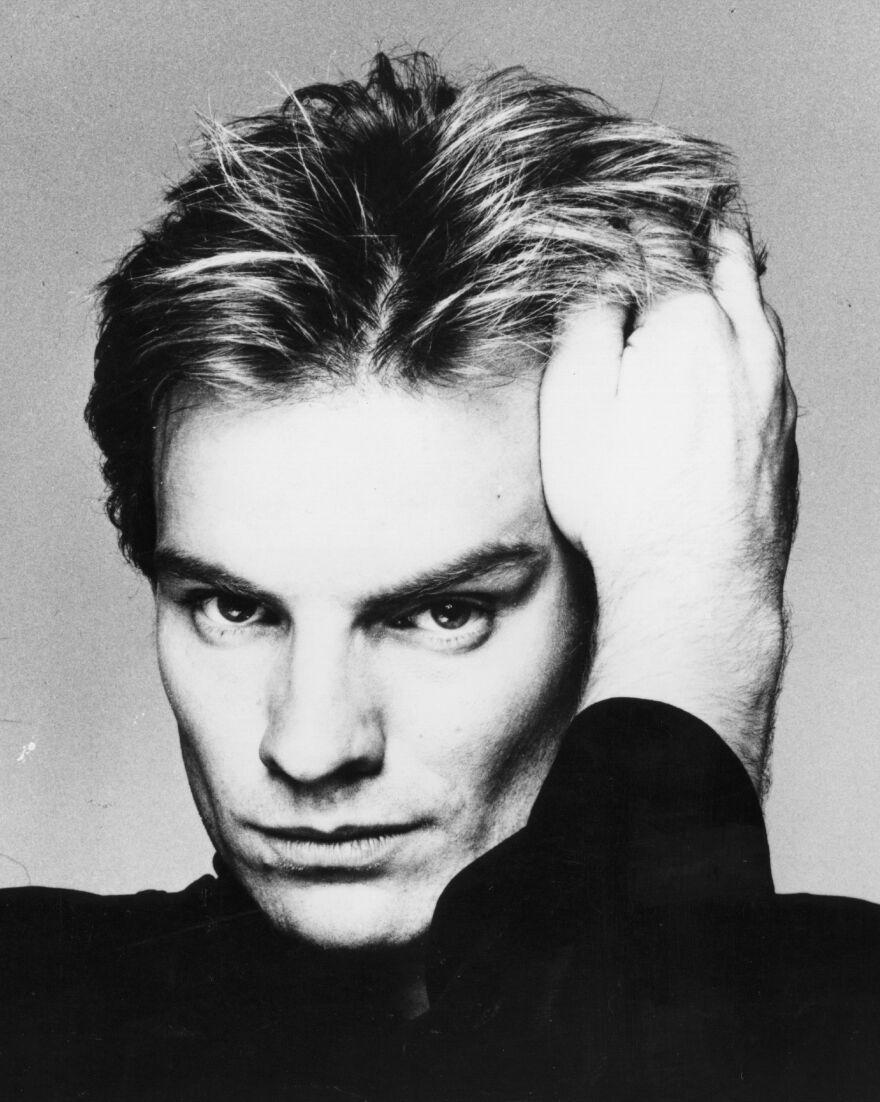 Sting (Gordon Sumner) in 1986.