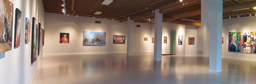 The main gallery space at Centro Cultural Aztlan, in San Antonio, Tx. stands empty for now. It's one of 846 arts organizations to be awarded a $50,000 CARES Act grant through the National Endowment for the Arts.