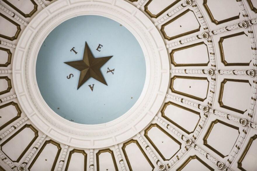 The rotunda of the Texas Capitol