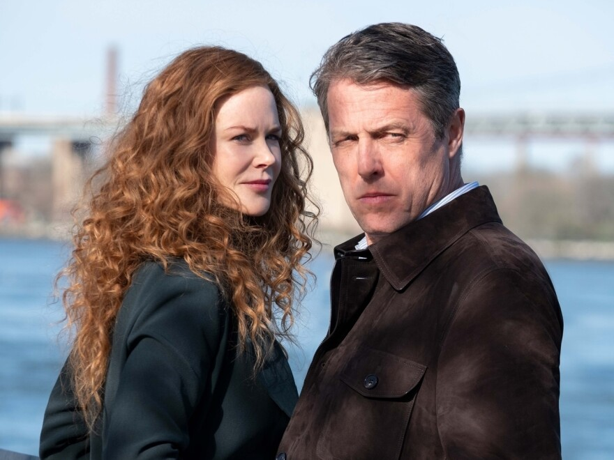 <strong>Love ... Actually?</strong> Nicole Kidman and Hugh Grant play a married couple whose relationship is not what seems in <em>The Undoing. </em>