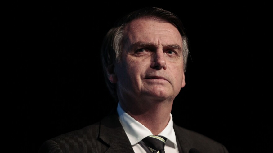 Jair Bolsonaro, the Brazilian presidential candidate for the Social Liberal Party, has led the polls throughout the campaign.