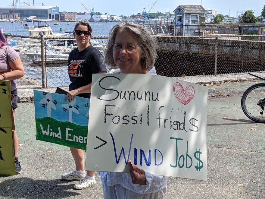 wind protesters