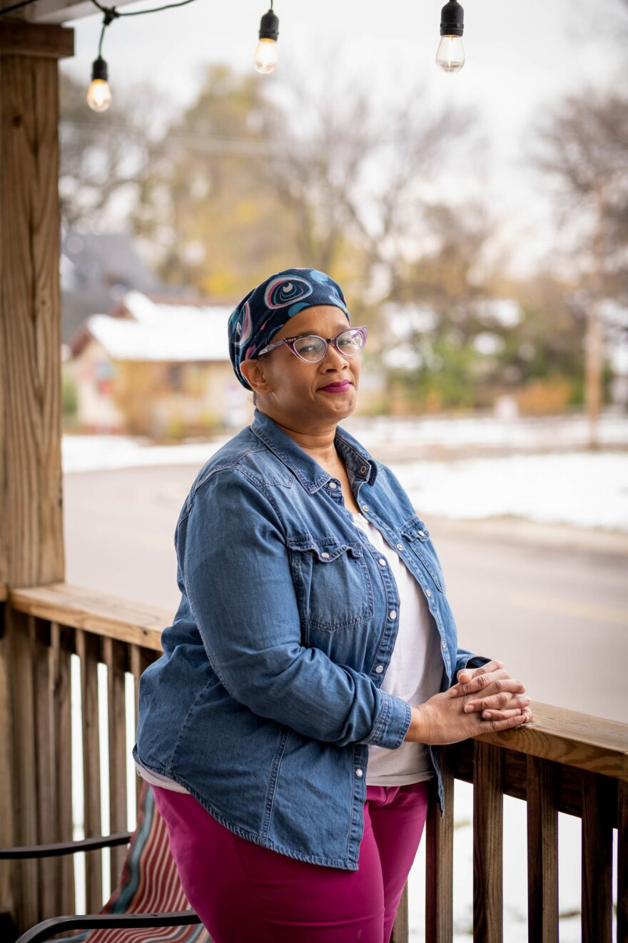 Rashida Jackson first came to NorthPoint as a patient in childhood, and is now community board member. The clinic, she says, is a beloved part of the community.