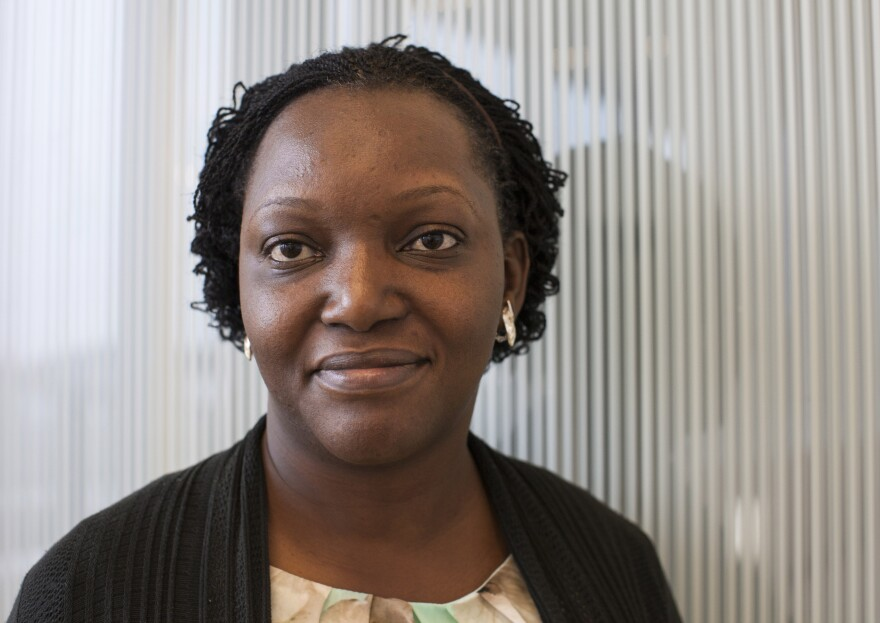 """Dr. Etheldreda Nakimuli-Mpungu is one of <a href=""""http://www.elsevierfoundation.org/5-biologists-to-receive-elsevier-foundation-awards-for-women-in-science-at-aaasmtg/"""">this year's winners</a> of the Elsevier Foundation Award for female scientists in the developing world."""