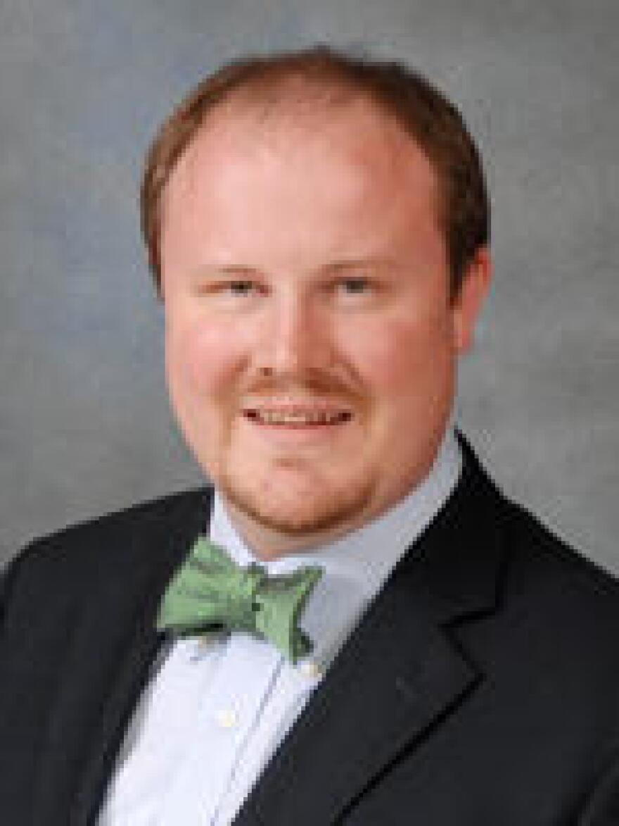 Committee Chairman Matt Caldwell, R-North Fort Myers, begins debate over land policy.