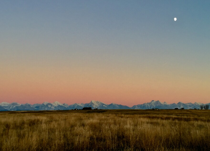 Montana's Mission Valley, near Stark's hometown. The Wash U composer has a deep personal connection to nature, from which he draws inspiration.