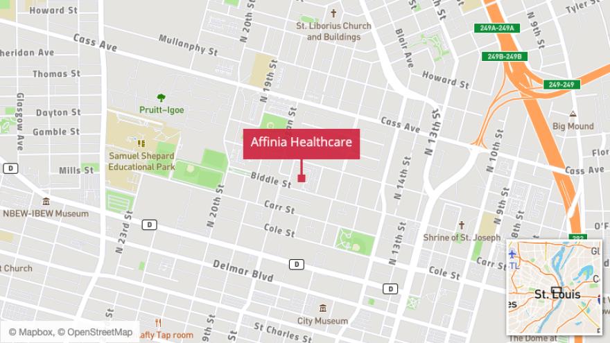Affinia health care north St. Louis coronavirus testing facilities
