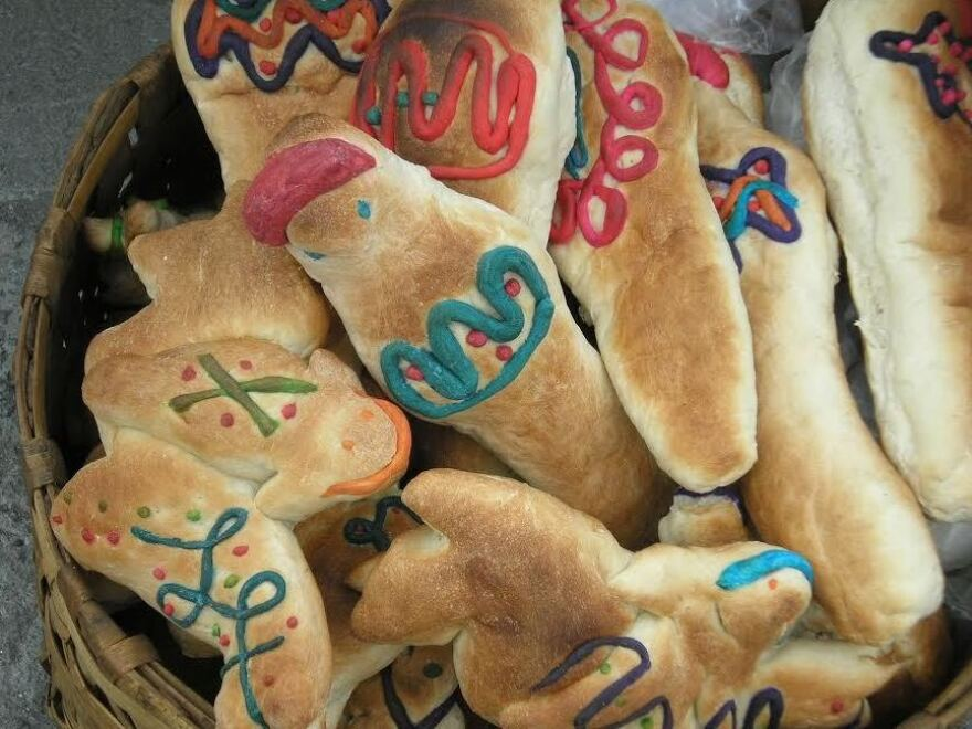 """Guaguas de Pan,"" or ""bread babies,"" are a traditional treat during the celebration of <em>Día de los Difuntos.</em>"