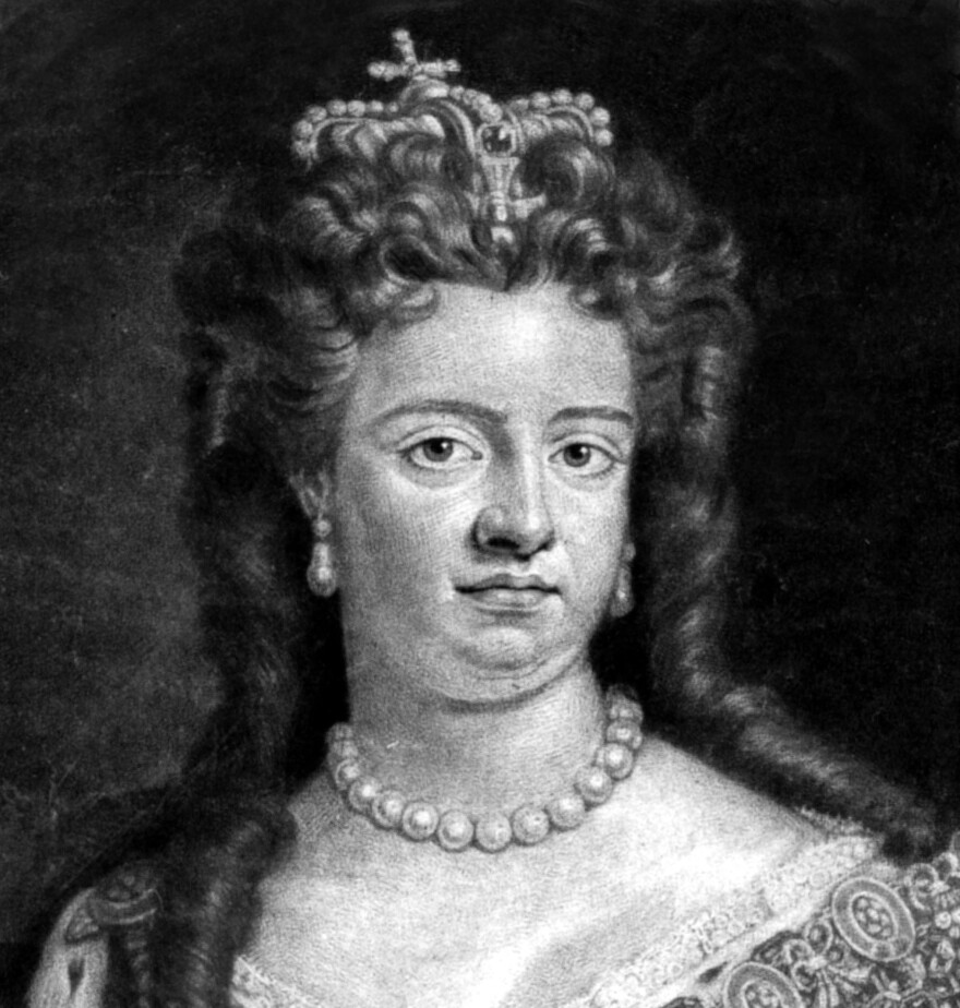 Queen Anne's reign coincided with an important time for tea and the emergence of the tea table.