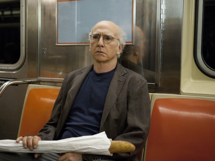"Larry David returned for an eighth season of <em>Curb Your Enthusiasm</em> this year. David Bianculli called his show ""one of the funniest and [most] daringly different shows ever made for TV."""