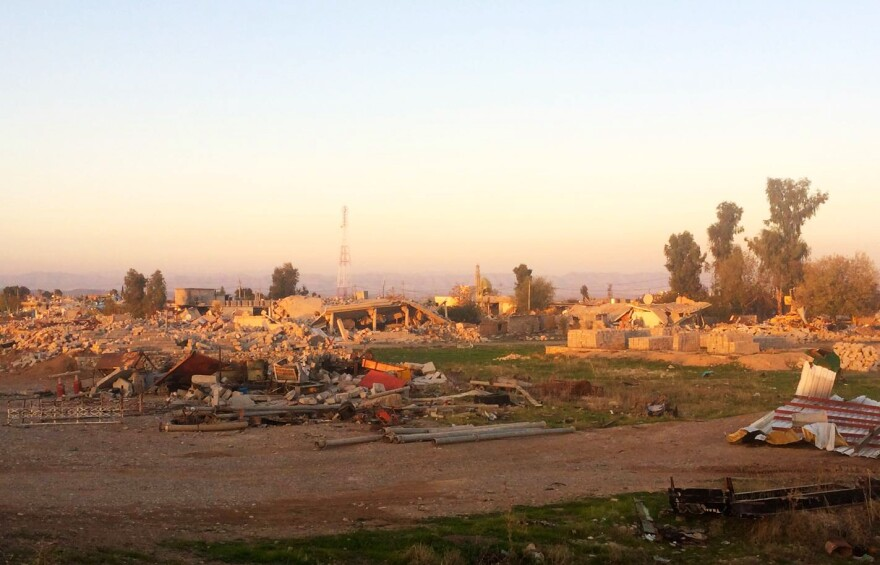 Barzan, an Arab village outside Zumar, has been completely leveled by U.S.-led airstrikes and Kurdish soldiers. The Kurds say the whole village sided with the Islamic State, though no Arabs remain to tell their side of the story.