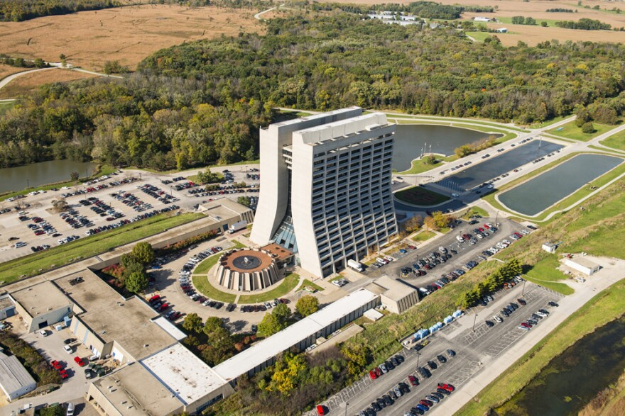 The Fermi National Accelerator Laboratory, or Fermilab, used to be home to the world's most powerful particle accelerator, the Tevatron. (Fermilab)