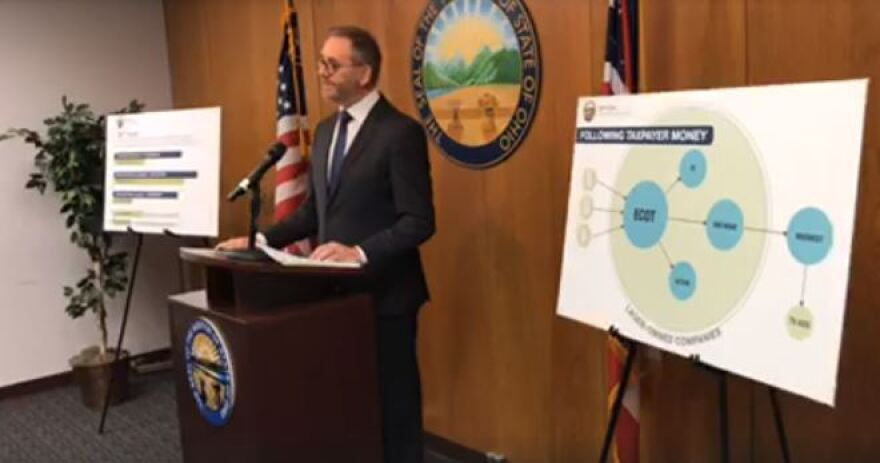 Auditor Dave Yost press conference