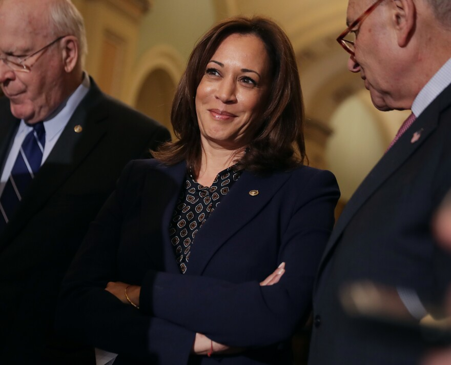 Sen. Kamala Harris of California is among several likely Democratic presidential candidates.