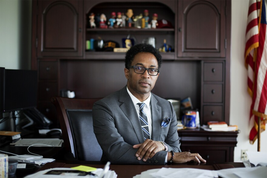 St. Louis County Prosecuting Attorney Wesley Bell said he needs a lot more money to run his office properly.