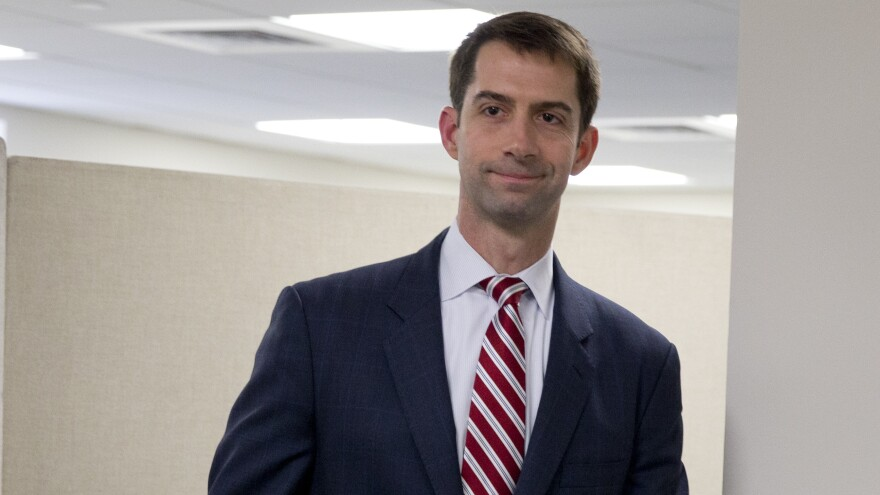 "Sen. Tom Cotton, who orchestrated a letter to Iran's leaders disapproving of any potential deal with their country, called the president's underlying assumptions in making a deal ""wishful thinking."""