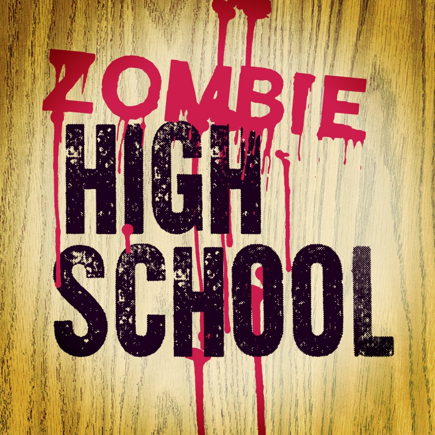 Zombie High School logo