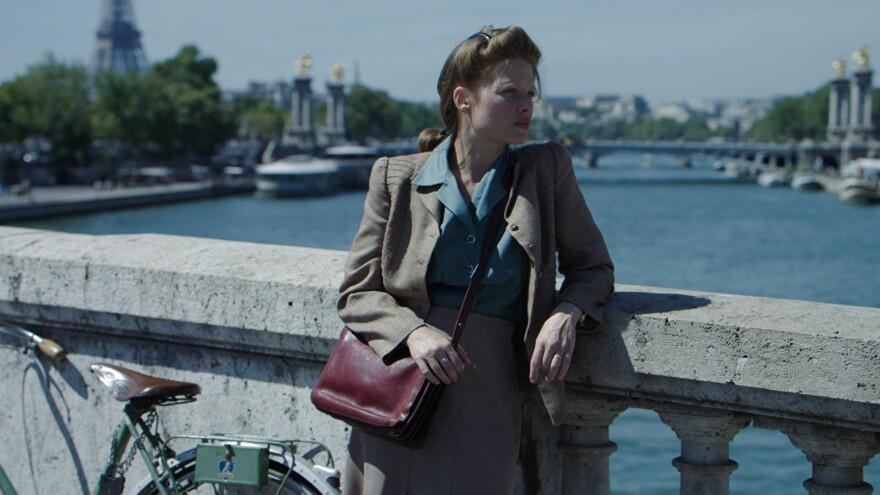 Mélanie Thierry is writer Marguerite Duras in <em>Memoir of War</em>.