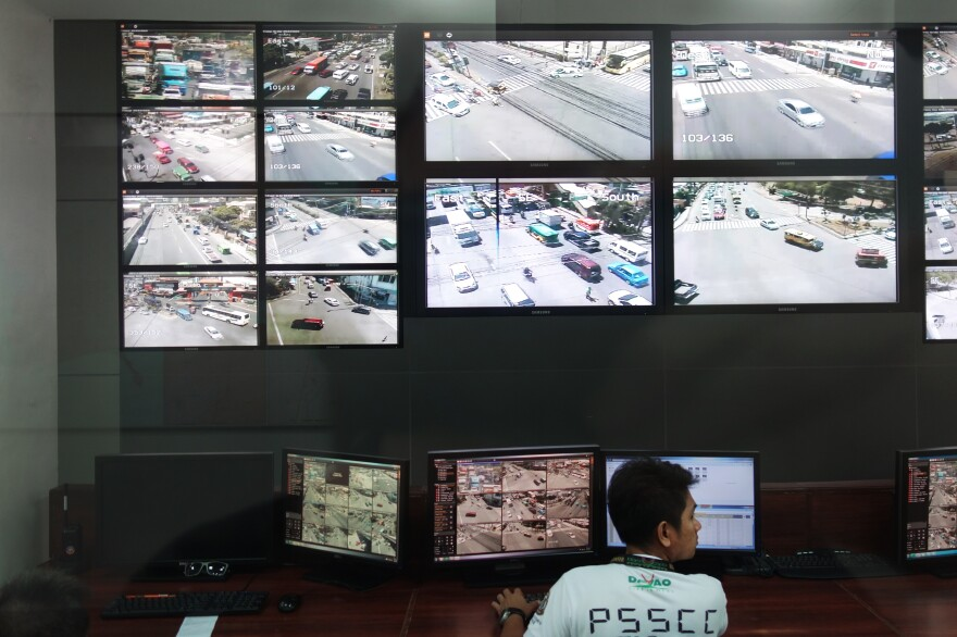 When Duterte was mayor of Davao City, he established a surveillance center as part of his efforts to bring down crime.
