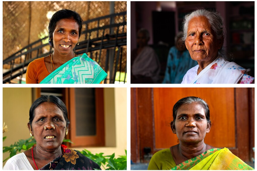 Clockwise from upper right: Grace, Marypai, Pandian, Manju