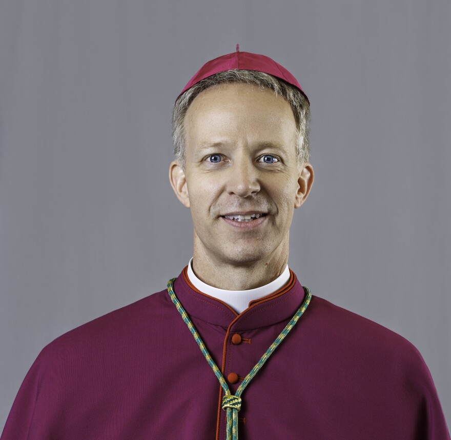 Bishop Bill Wack of the Catholic Diocese of Pensacola-Tallahassee