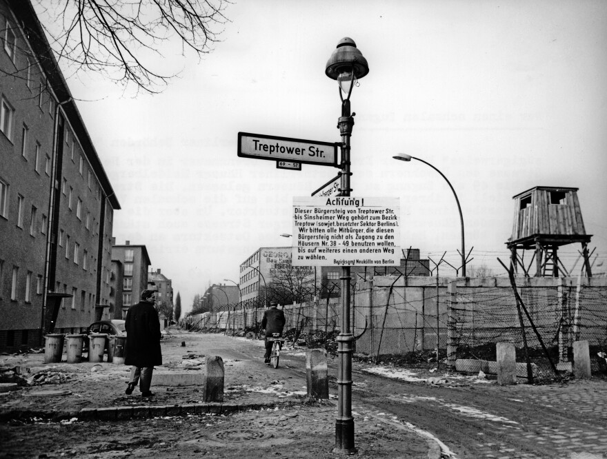 "Heidelberger Strasse was divided down the middle by the Berlin Wall. It was known as ""the Street of Tears"" and was the site of many of the early tunnels."