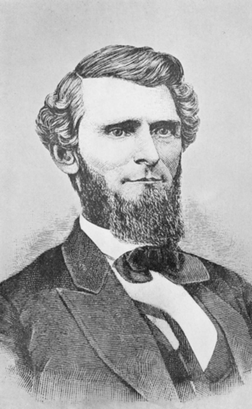 Governor Arthur Ingraham Boreman (1823-96)