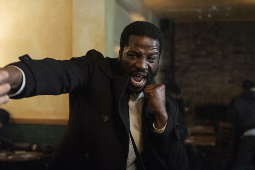 Sope Dirisu as Elliot Finch in <em>Gangs of London</em> out on AMC on Oct 1.