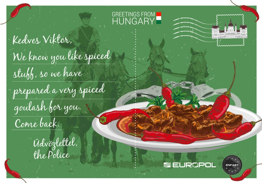 Hungary's postcard