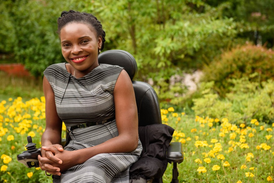Georgina Mamba's activism for people with disabilities brought her to the United States as one of 1,000 Mandela Washington Fellows under President Obama's Young African Leaders Initiative.