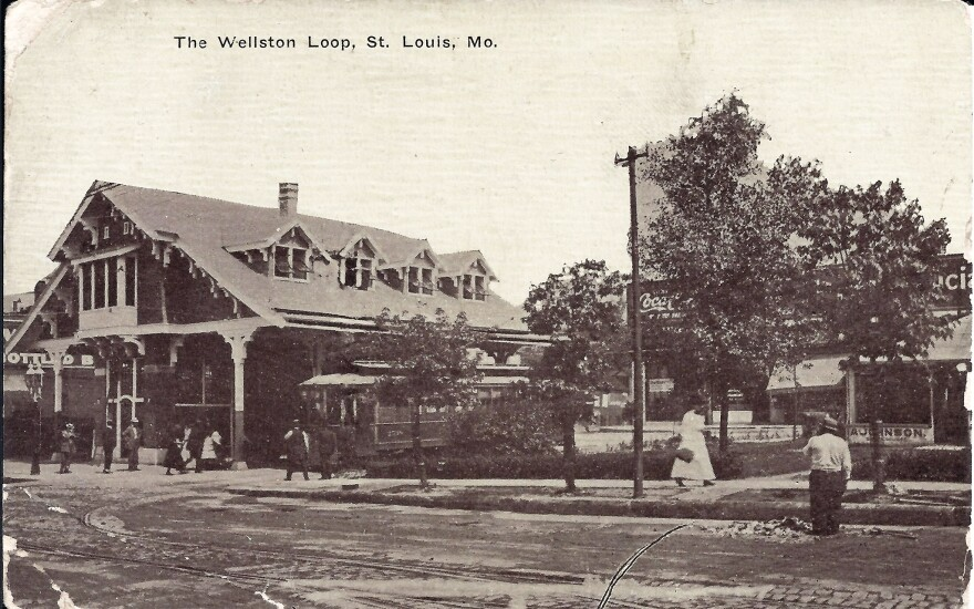 The Wellston Station, 1911