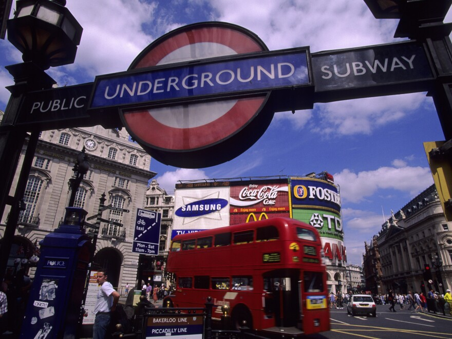 London Mayor Sadiq Khan announced a ban on junk food advertisements across the city's transportation network on Friday. The new rules will take effect on Feb. 25, 2019.