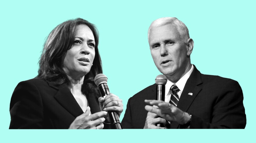 Democratic vice presidential nominee Kamala Harris and Vice President Pence face off in their only debate Wednesday.