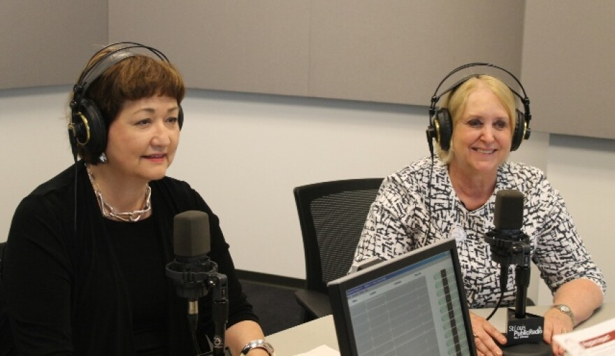 Anna Crosslin (left) and Betsy Cohen (right)