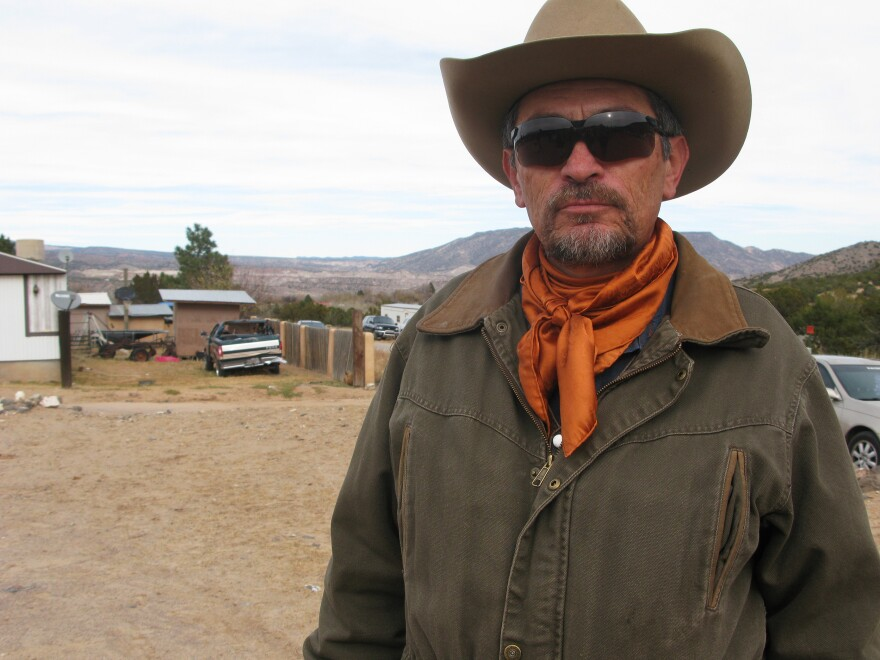 """Ranch manager Virgil Trujillo wants the world to know that """"the <em>genizaro</em> people of the pueblo of Abiquiu are alive and well."""""""