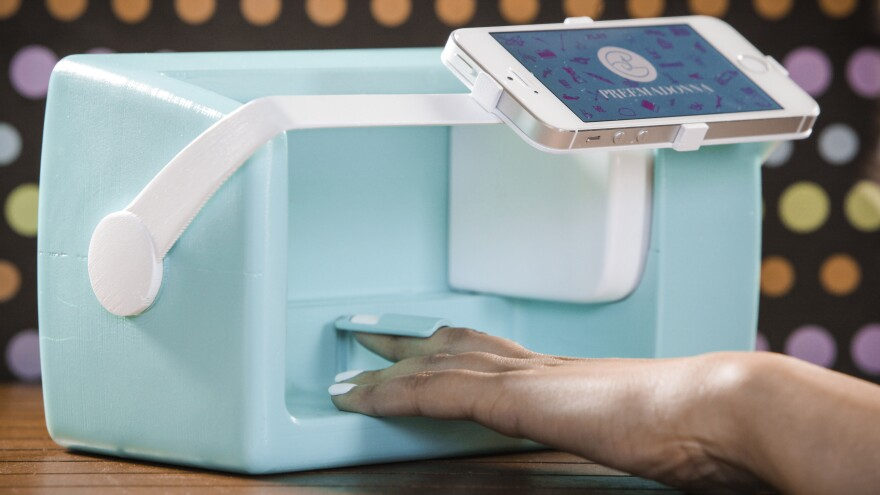The co-founder of Preemadonna, maker of the Nailbot, hopes the nail-art printing device will help attract girls to tech.