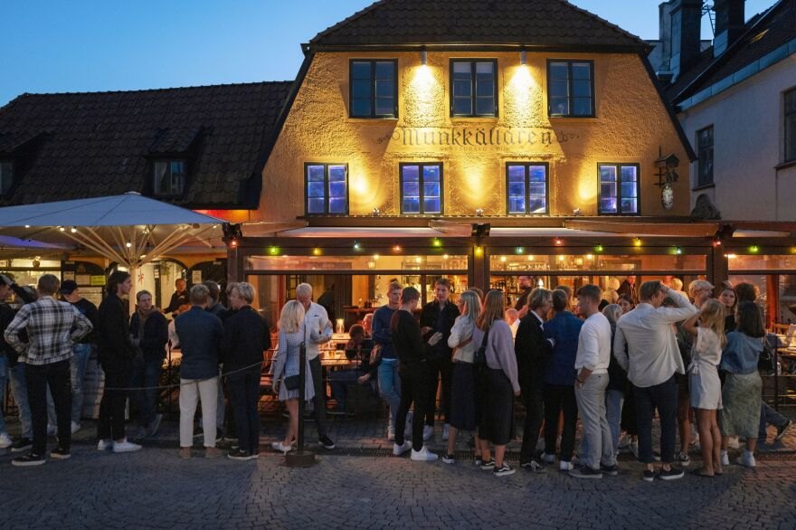Sweden has not closed bars and restaurants during the pandemic. The result has been more cases of coronavirus infection. But far fewer people are immune than would be needed for Sweden to achieve herd immunity.