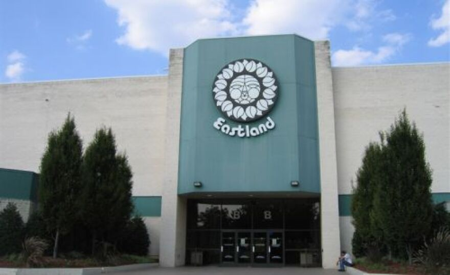 The old Eastland Mall was torn down in 2013.