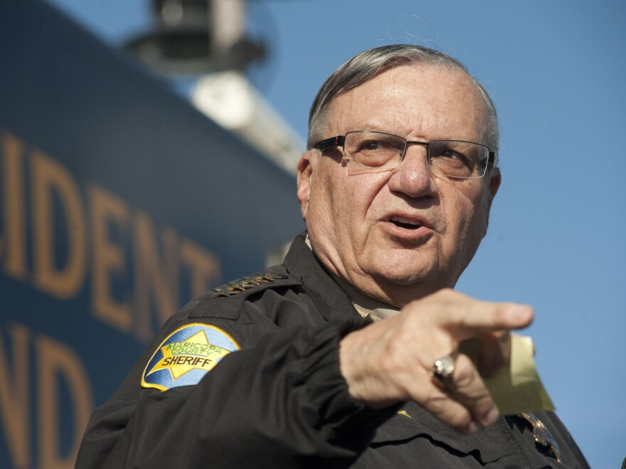 """Maricopa County (Ariz.) Sheriff Joe Arpaio, the self-proclaimed """"toughest sheriff in America,"""" is best-known for aggressively enforcing immigration laws."""