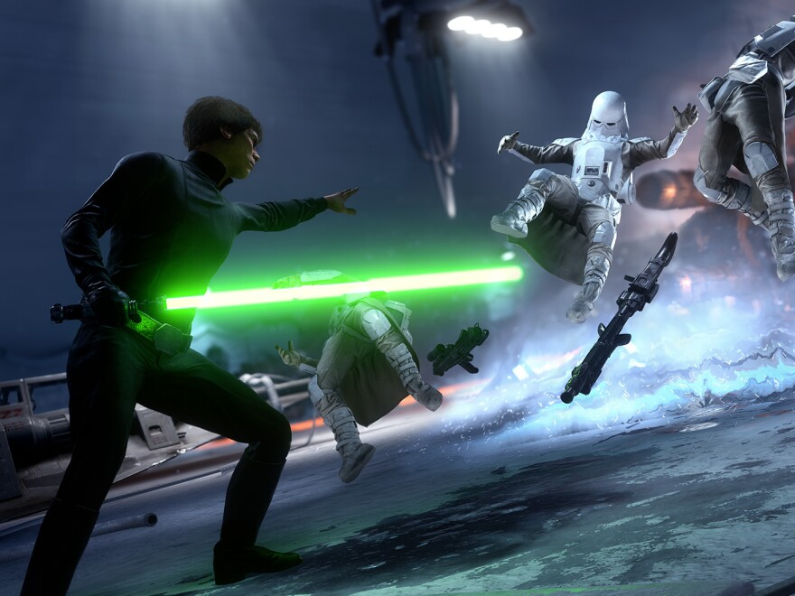 In Star<em> Wars:</em> <em>Battlefront</em>, gamers can take their pick of customization options for the characters they play.<em> </em>