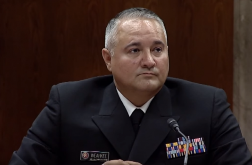 Interim Indian Health Service Director Rear Admiral Michael Weahkee